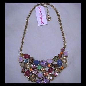Betsey Johnson Sweet Shop Crystal Candy Necklace